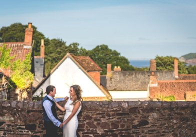 Dunster Tithe Barn Wedding Photography