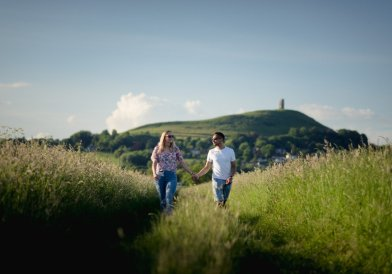 Glastonbury Engagement Photography