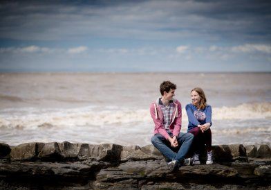 Kilve Beach Engagement Photography