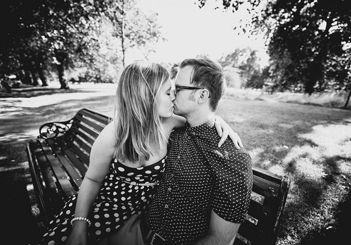 Green Park Engagement Photography in London