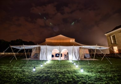 The Pop-Up Hotel Glamping Location Photography