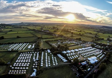 The Pop-Up Hotel Glastonbury Festival 2015 Photography